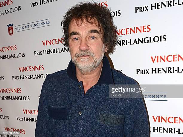 Henri Langlois 2014 awarded president director Olivier Marchal attends the 'Henri Langlois Award' 2014 Closing Ceremony At Hotel De Ville De...