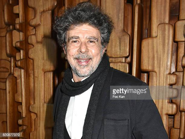 Henri Langlois 2016 awarded composer Gabriel Yared attends Henri Langlois 11th Award Ceremony At Maison de La Radio on April 11 2015 in Paris France
