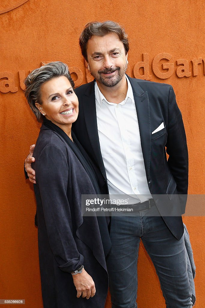 <a gi-track='captionPersonalityLinkClicked' href=/galleries/search?phrase=Henri+Leconte&family=editorial&specificpeople=159217 ng-click='$event.stopPropagation()'>Henri Leconte</a> and Maria Dowlatshahi attend the French Tennis Open Day 8 at Roland Garros on May 29, 2016 in Paris, France.