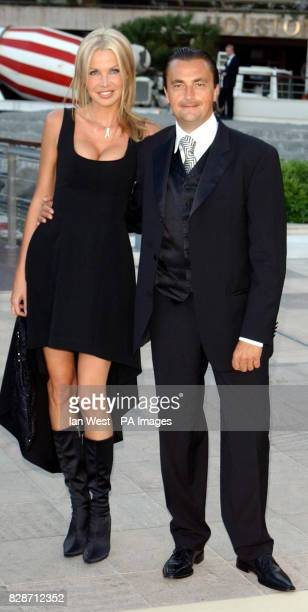 Henri Leconte arrives for the Laureus World Sports Awards at the Forum Grimaldi in Monte Carlo