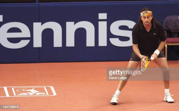 Henri LeConte at The 2005 Masters Tennis Tournament in London at the Royal Albert Hall on November 29 2005