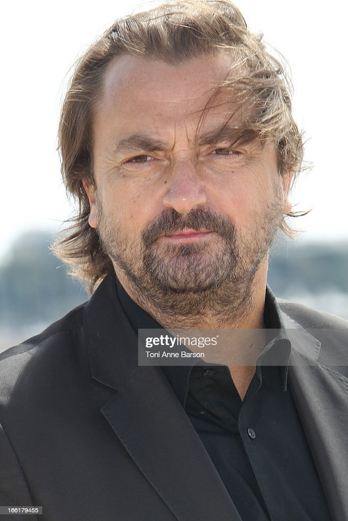 Henri Leconte attends the 'Looking For' photocall on April 9, 2013 in Cannes, France.