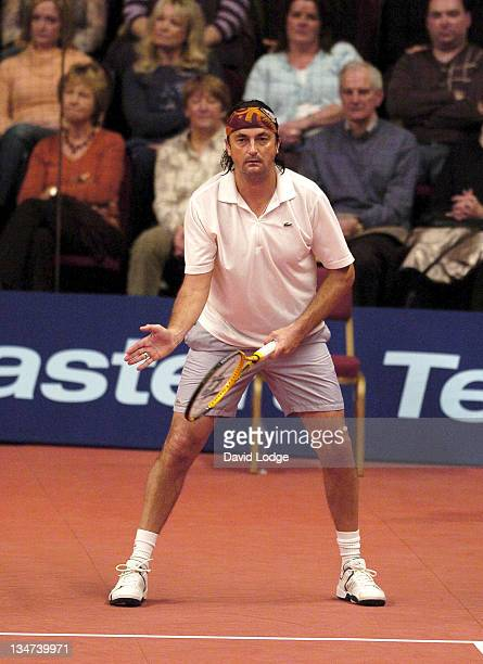 Henri LeConte during The Delta Tour of Champions 2005 Masters Tennis Day Two at Royal Albert Hall in London Great Britain