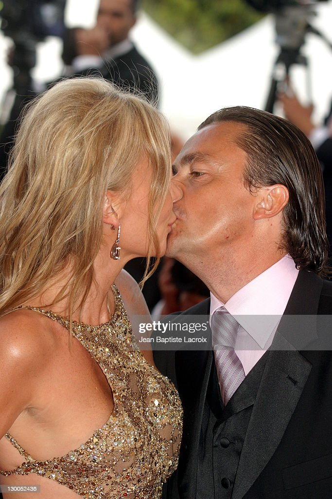 <a gi-track='captionPersonalityLinkClicked' href=/galleries/search?phrase=Henri+Leconte&family=editorial&specificpeople=159217 ng-click='$event.stopPropagation()'>Henri Leconte</a> & wife during 2003 Cannes Film Festival - The Barbarian Invasions Premiere at Palais des Festivals in Cannes, France.