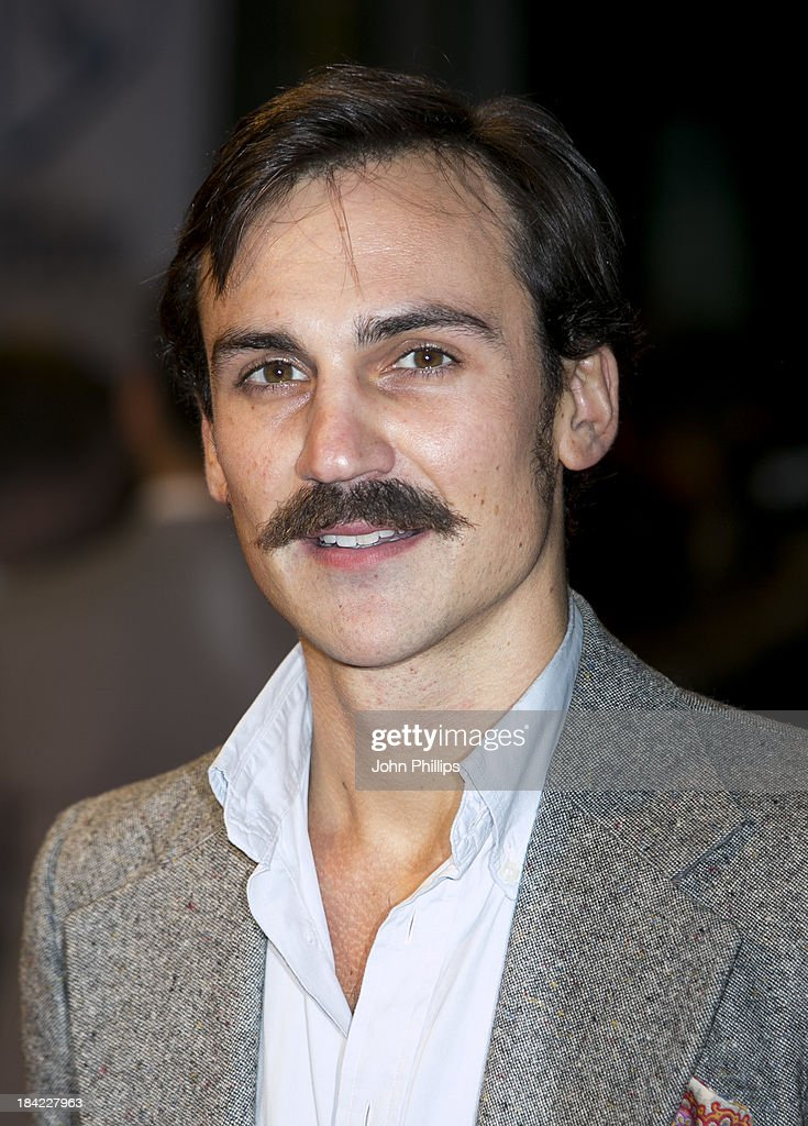 Henri Lloyd Hughes attends a screening of 'Hello Carter' during the 57th BFI London Film Festival at Odeon West End on October 12, 2013 in London, England.