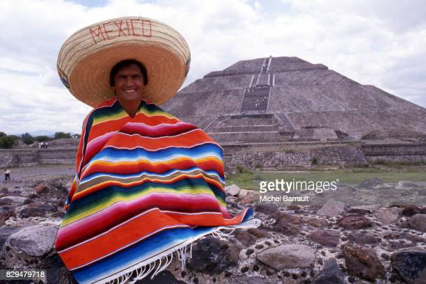 Henri Michel coach of France during a photoshoot on June 15 1985 in Mexico