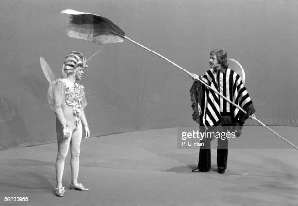 Henri Salvador and Joe Dassin Television programme December 1972