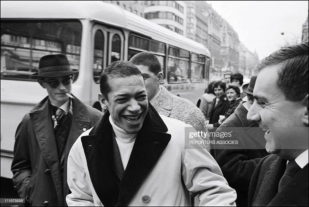 Henri Salvador in Paris France on April 19 1962