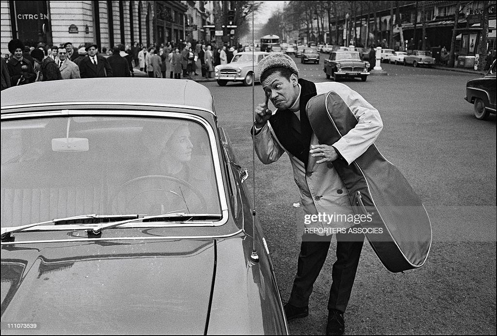 Henri Salvador in Paris France on April 19 1962