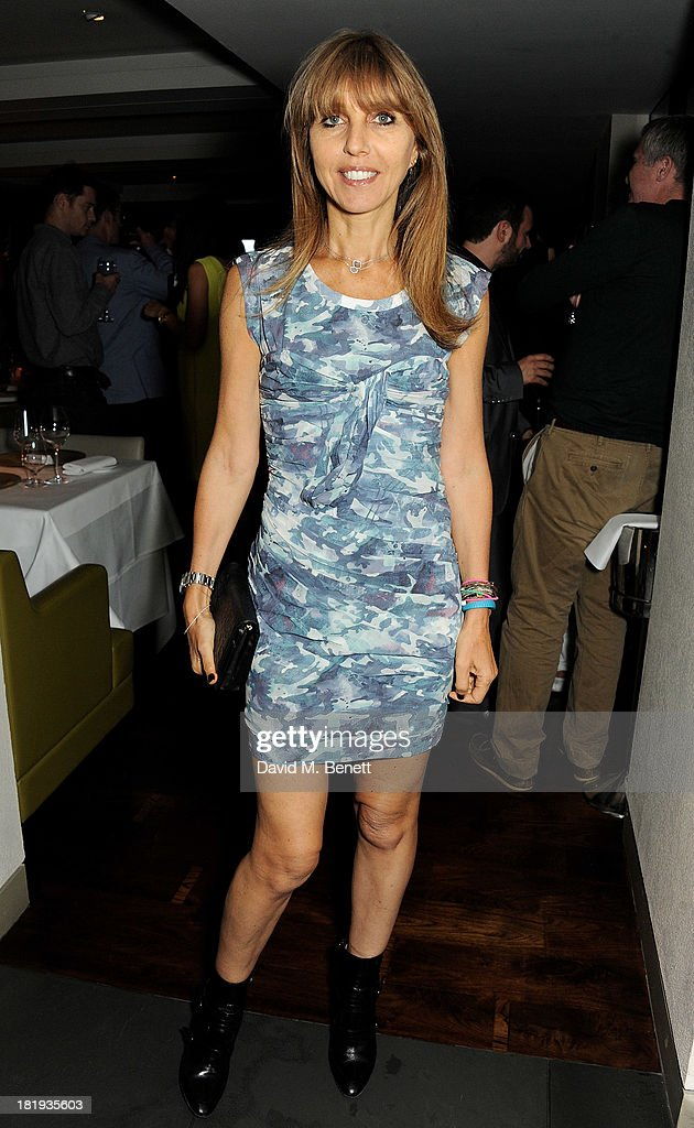 Henrietta Conrad attends the Sky Living rebrand dinner at the Greenhouse Restaurant on September 26, 2013 in London, England.