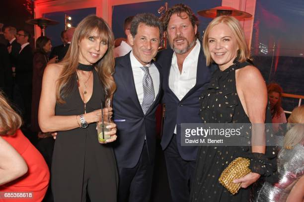 Henrietta Conrad Josh Berger Arpad Busson and Mariella Frostrup attend The 9th Annual Filmmakers Dinner hosted by Charles Finch and JaegerLeCoultre...