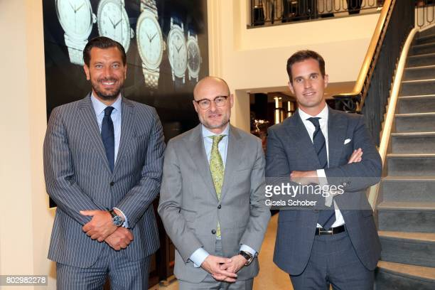 Henrik Ekdahl Managing Director IWC Northern Europe Georges Kern Head of Watchmaking Marketing and Digital Richemont and CEO IWC Schaffhausen...