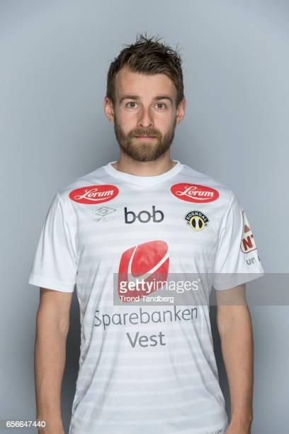 Henrik Furebotn of Team Sogndal Fotball during Photocall on March 22 2017 in Sogndal Norway
