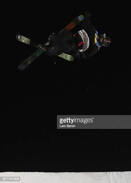 Henrik Harlaut of Sweden competes during the Ski Big Air Final of the ARAG Big Air Freestyle Festival on December 2 2016 in Moenchengladbach Germany