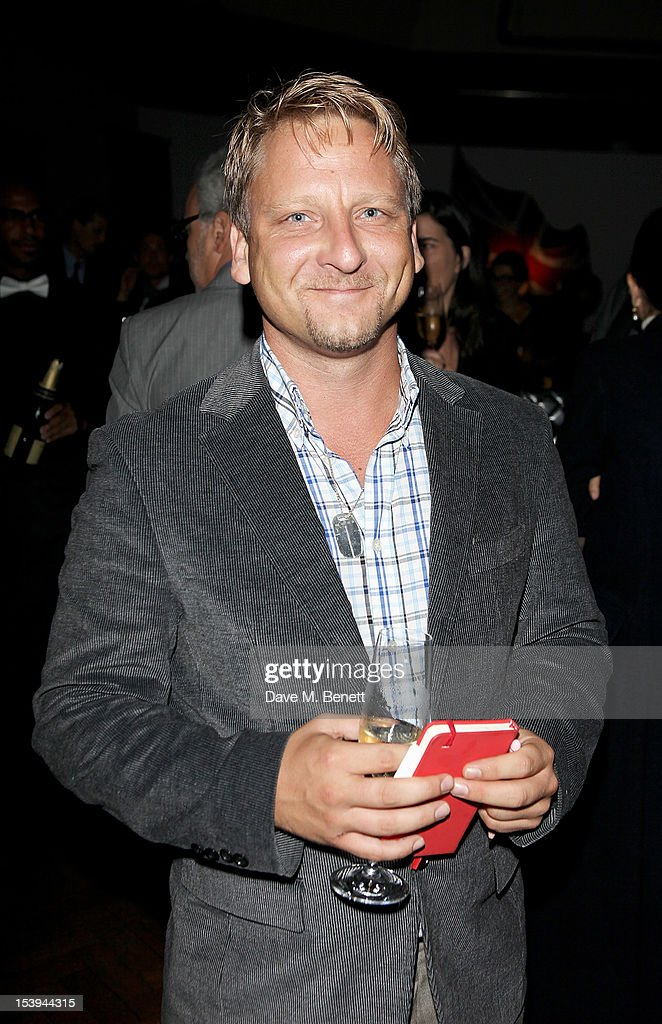 Henrik John Hohl attends a private dinner hosted by Matthew Slotover and Amanda Sharp to celebrate the Frieze Projects and the Emdash Awards 2012 at Central St. Martin's on October 11, 2012 in London, England.
