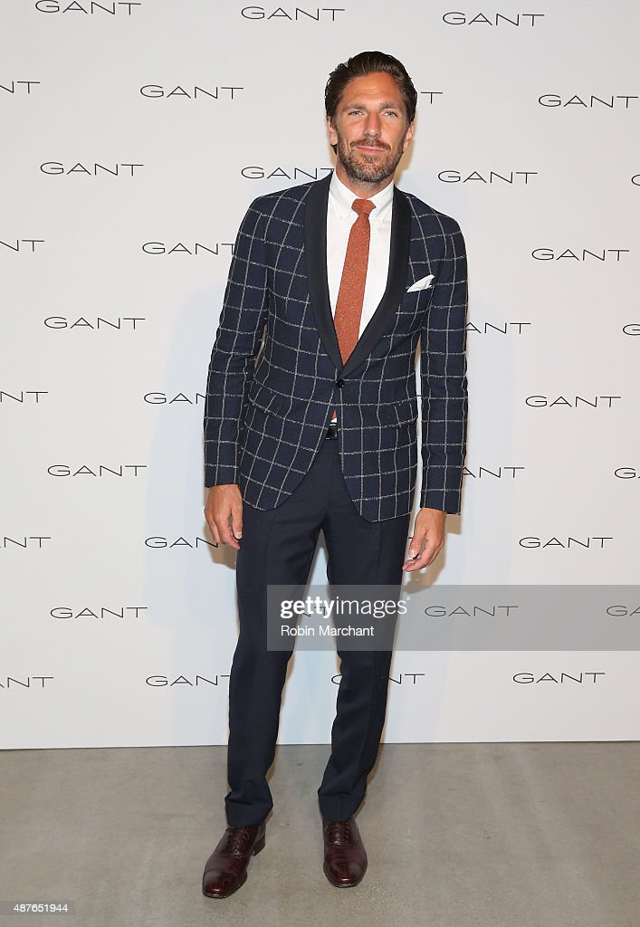 <a gi-track='captionPersonalityLinkClicked' href=/galleries/search?phrase=Henrik+Lundqvist&family=editorial&specificpeople=217958 ng-click='$event.stopPropagation()'>Henrik Lundqvist</a> attends House of Gant Presentation during Spring 2016 New York Fashion Week on September 10, 2015 in New York City.