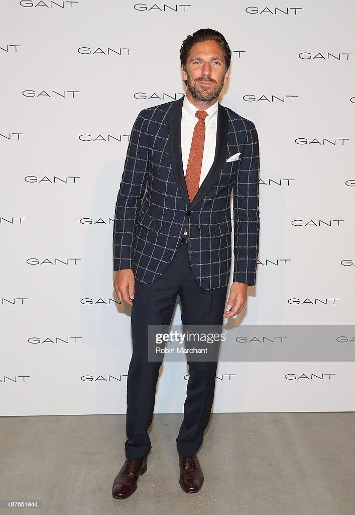 Henrik Lundqvist attends House of Gant Presentation during Spring 2016 New York Fashion Week on September 10 2015 in New York City