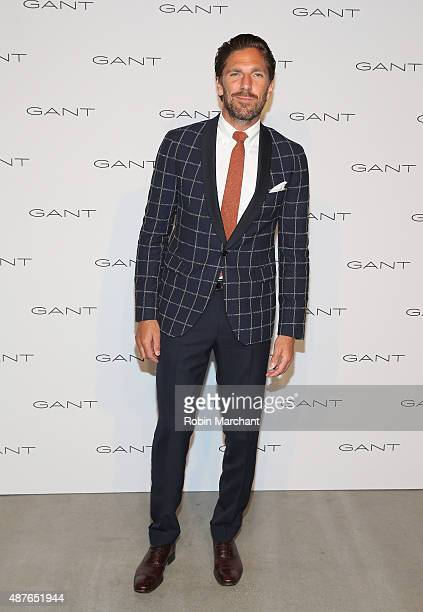 Henrik Lundqvist attends House of Gant Presentation during Spring 2016 New York Fashion Week on September 10 2015 in New York City