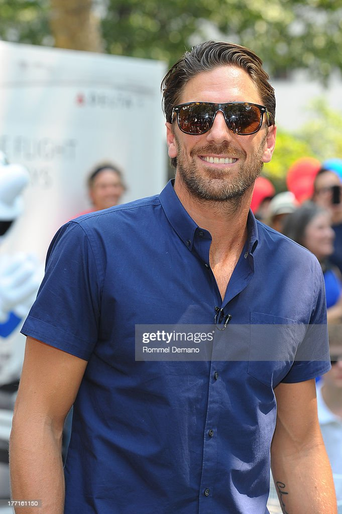 <a gi-track='captionPersonalityLinkClicked' href=/galleries/search?phrase=Henrik+Lundqvist&family=editorial&specificpeople=217958 ng-click='$event.stopPropagation()'>Henrik Lundqvist</a> attends the Delta Open Table Tennis Tournament at Madison Square Park on August 21, 2013 in New York City.