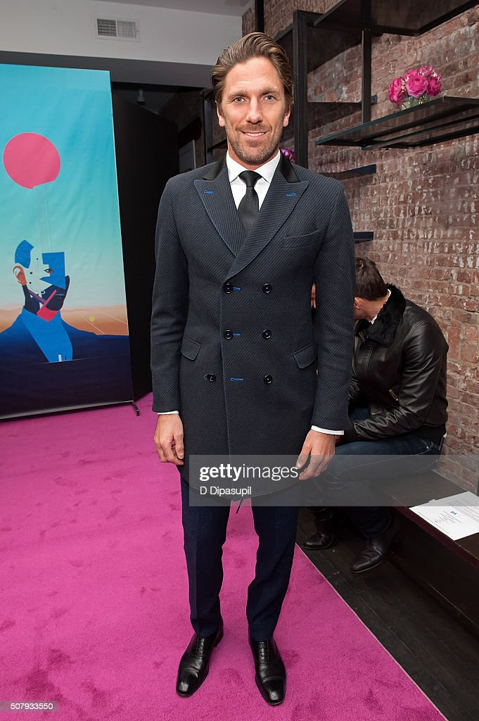 <a gi-track='captionPersonalityLinkClicked' href=/galleries/search?phrase=Henrik+Lundqvist&family=editorial&specificpeople=217958 ng-click='$event.stopPropagation()'>Henrik Lundqvist</a> attends the Stephen F fashion show during New York Fashion Week Men's Fall/Winter 2016 on February 1, 2016 in New York City.