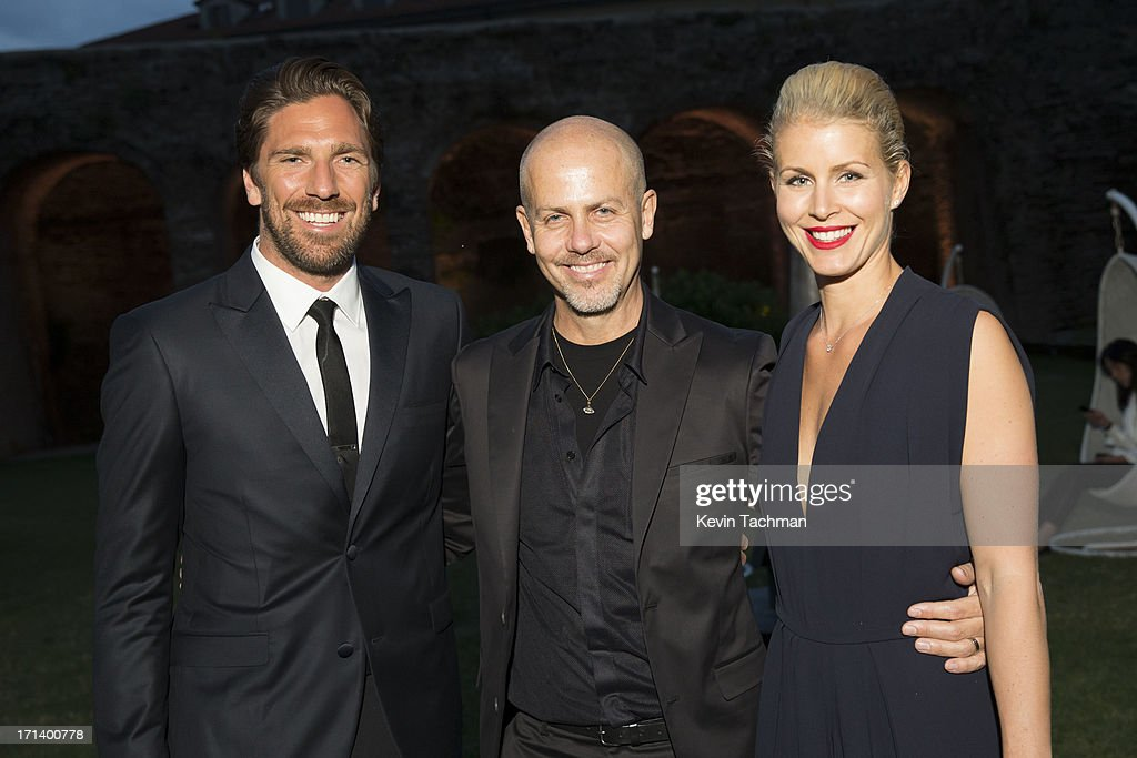 <a gi-track='captionPersonalityLinkClicked' href=/galleries/search?phrase=Henrik+Lundqvist&family=editorial&specificpeople=217958 ng-click='$event.stopPropagation()'>Henrik Lundqvist</a>, designer <a gi-track='captionPersonalityLinkClicked' href=/galleries/search?phrase=Italo+Zucchelli&family=editorial&specificpeople=571545 ng-click='$event.stopPropagation()'>Italo Zucchelli</a> and Therese Andersson attend the dinner to celebrate <a gi-track='captionPersonalityLinkClicked' href=/galleries/search?phrase=Italo+Zucchelli&family=editorial&specificpeople=571545 ng-click='$event.stopPropagation()'>Italo Zucchelli</a>'s ten years as Calvin Klein Collection's mens creative director on June 23, 2013 in Milan, Italy.