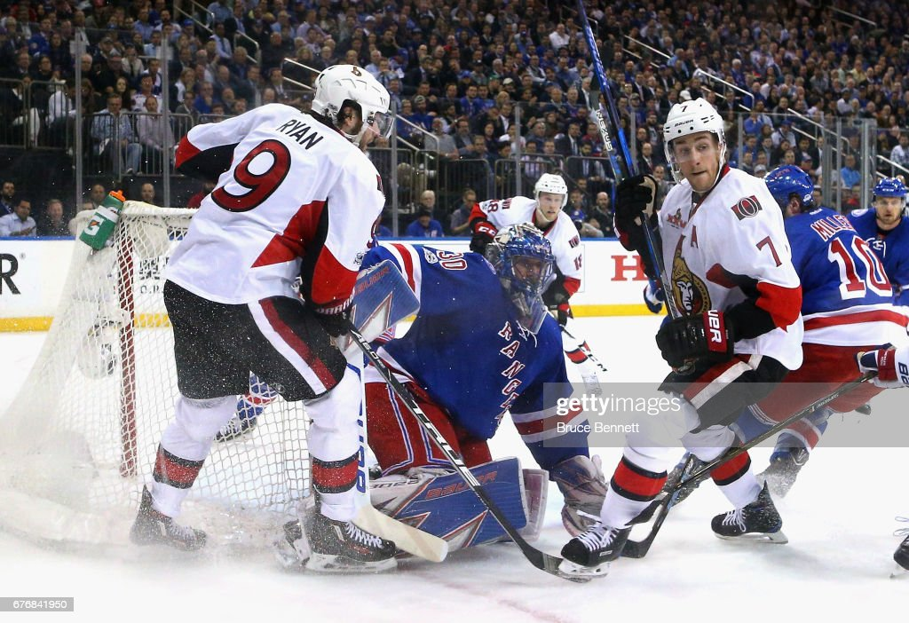 Ottawa Senators v New York Rangers - Game Three