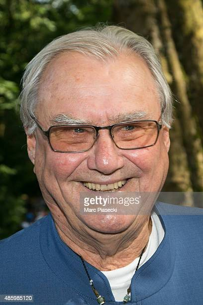 Henrik of Denmark attends the 2Oth 'La Foret des Livres' book fair on August 30 2015 in ChanceauxpresLoches France