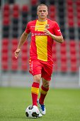 Henrik Ojamaa during the team presentation of Go Ahead Eagles on July 15 2016 at the Adelaarshorst Stadium in Deventer The Netherlands