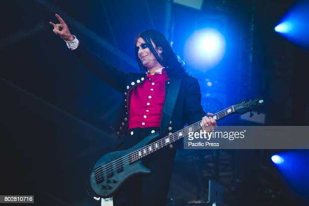 FESTIVAL CLISSON NANTES FRANCE Henrik Sandelin during performance Avatar performing live at the Hellfest Festival 2017 in Clisson near Nantes