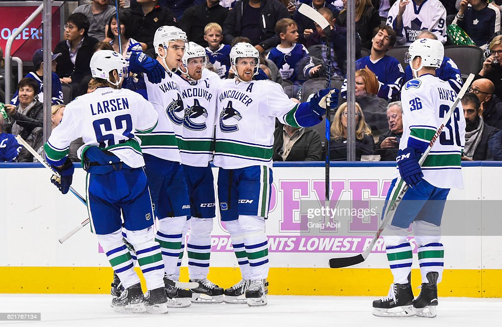 Vancouver Canucks v Toronto Maple Leafs