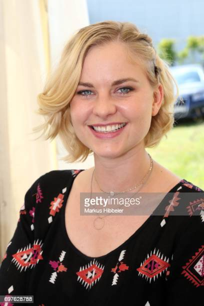 Henrike Fehrs poses during the celebration of 2500 episodes of 'Rote Rosen' on June 18 2017 in Lueneburg Germany