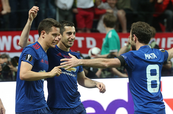 Ajax v Manchester United - UEFA Europa League Final : News Photo