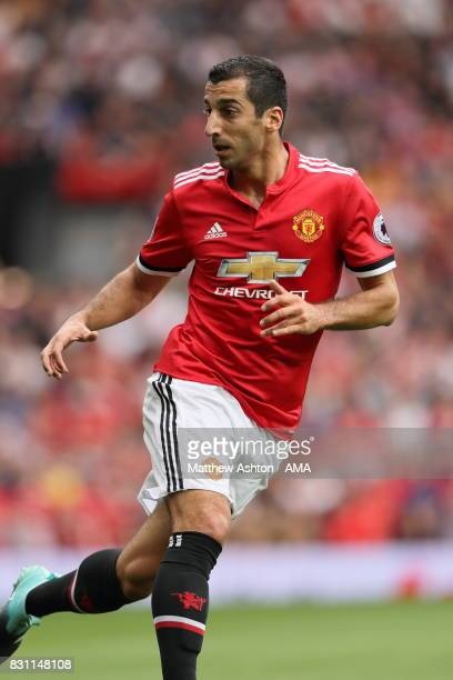 Henrikh Mkhitaryan of Manchester United during the Premier League match between Manchester United and West Ham United at Old Trafford on August 13...