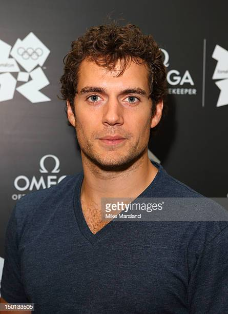 Henry Cavill attends 'Brazil Night' at Omega House on August 10 2012 in London England