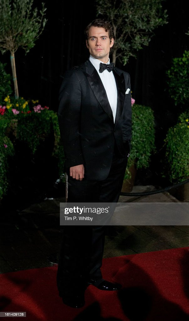 <a gi-track='captionPersonalityLinkClicked' href=/galleries/search?phrase=Henry+Cavill&family=editorial&specificpeople=3767741 ng-click='$event.stopPropagation()'>Henry Cavill</a> attends the after party for the EE British Academy Film Awards at Grosvenor House, on February 10, 2013 in London, England.