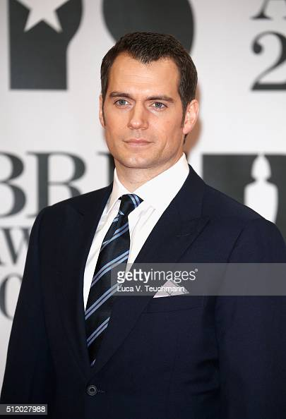 Henry Cavill attends the BRIT Awards 2016 at The O2 Arena on February 24 2016 in London England