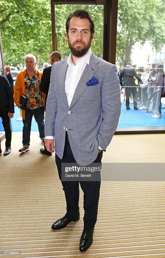 <a gi-track='captionPersonalityLinkClicked' href=/galleries/search?phrase=Henry+Cavill&family=editorial&specificpeople=3767741 ng-click='$event.stopPropagation()'>Henry Cavill</a> attends the dunhill and GQ style presentation to celebrate LCM SS16 at Phillips Gallery on June 14, 2015 in London, England.
