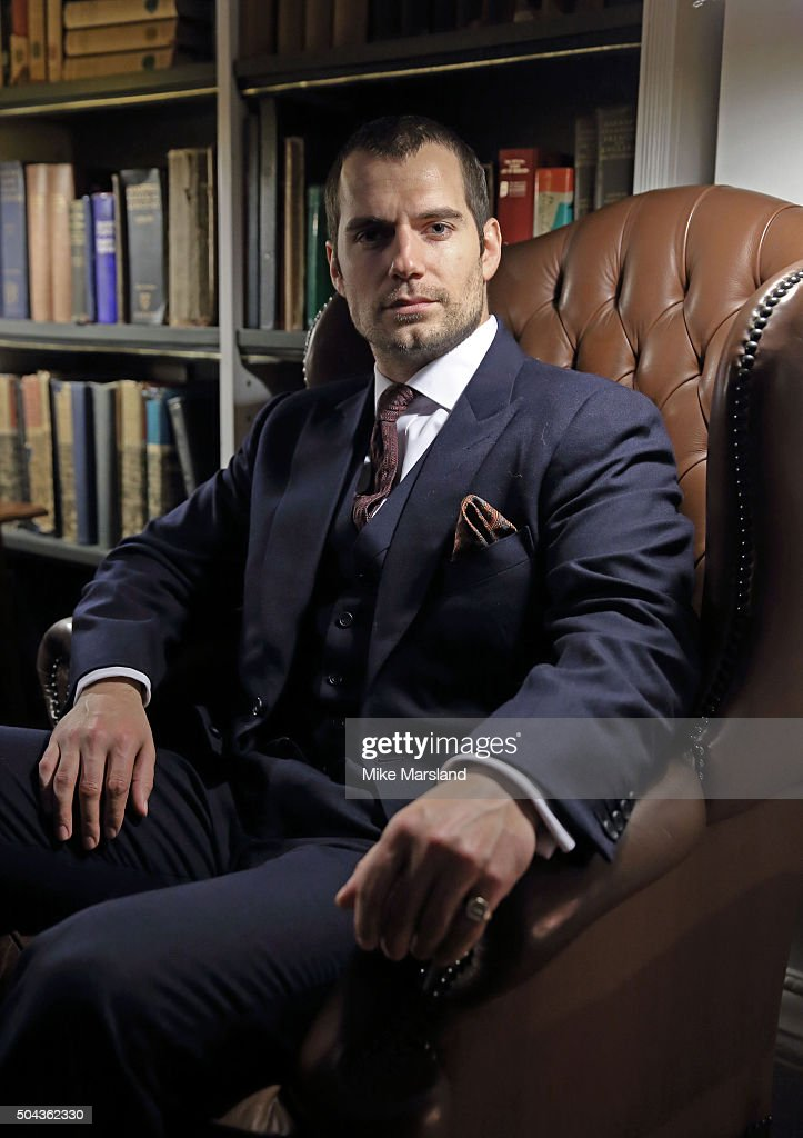 <a gi-track='captionPersonalityLinkClicked' href=/galleries/search?phrase=Henry+Cavill&family=editorial&specificpeople=3767741 ng-click='$event.stopPropagation()'>Henry Cavill</a> attends the dunhill Presentation at the The Savile Club during The London Collections Men AW16 on January 10, 2016 in London, England.