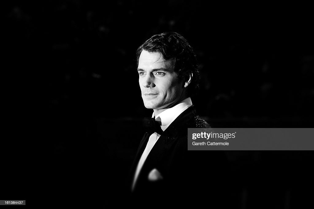 <a gi-track='captionPersonalityLinkClicked' href=/galleries/search?phrase=Henry+Cavill&family=editorial&specificpeople=3767741 ng-click='$event.stopPropagation()'>Henry Cavill</a> attends the EE British Academy Film Awards at The Royal Opera House on February 10, 2013 in London, England.