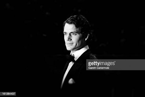 Henry Cavill attends the EE British Academy Film Awards at The Royal Opera House on February 10 2013 in London England