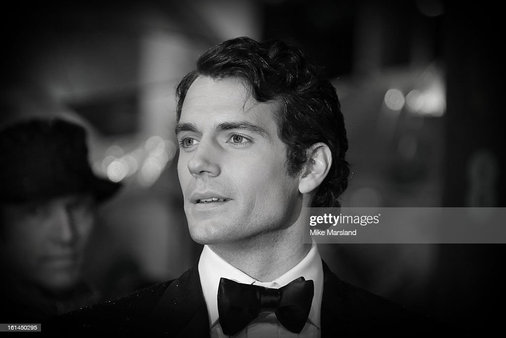 Henry Cavill attends the EE British Academy Film Awards at The Royal Opera House on February 10, 2013 in London, England.