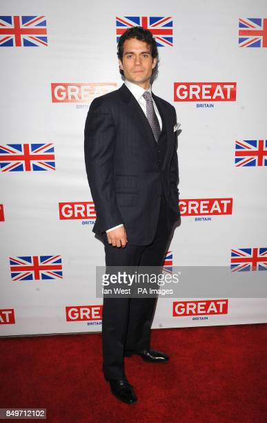 Henry Cavill attends the GREAT British Film Reception at The British Consul General's Residence in Los Angeles
