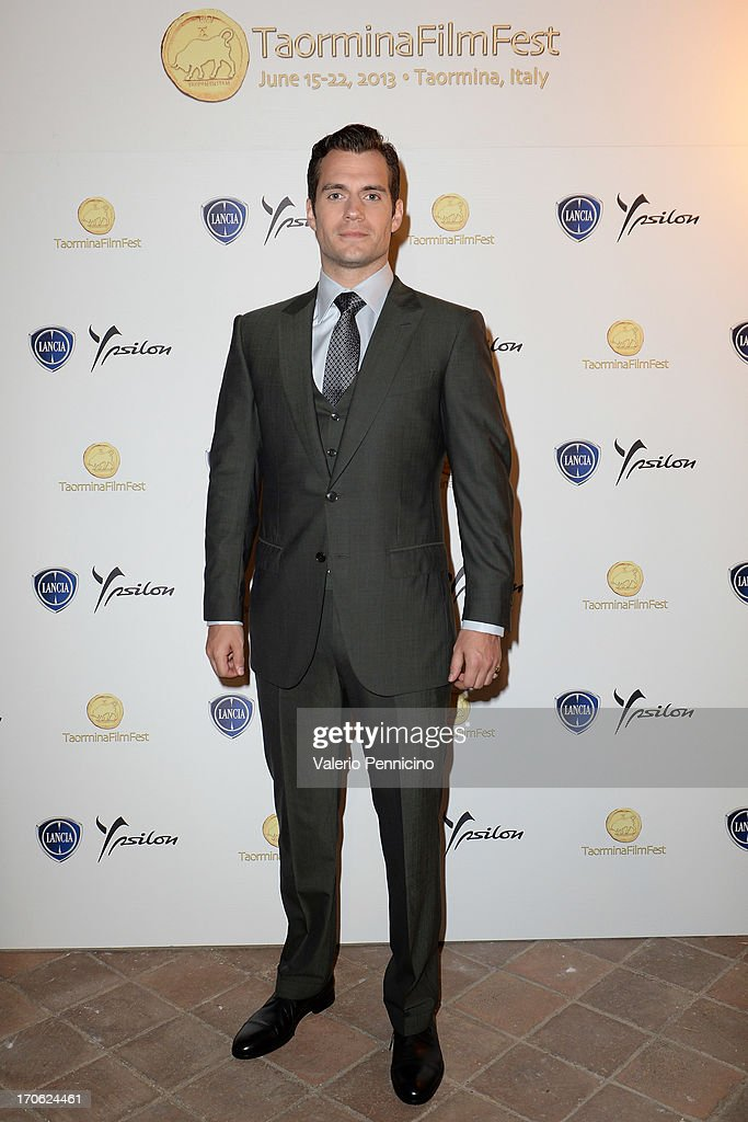 <a gi-track='captionPersonalityLinkClicked' href=/galleries/search?phrase=Henry+Cavill&family=editorial&specificpeople=3767741 ng-click='$event.stopPropagation()'>Henry Cavill</a> attends the Lancia Cafe during the Taormina Filmfest 2013 on June 15, 2013 in Taormina, Italy.
