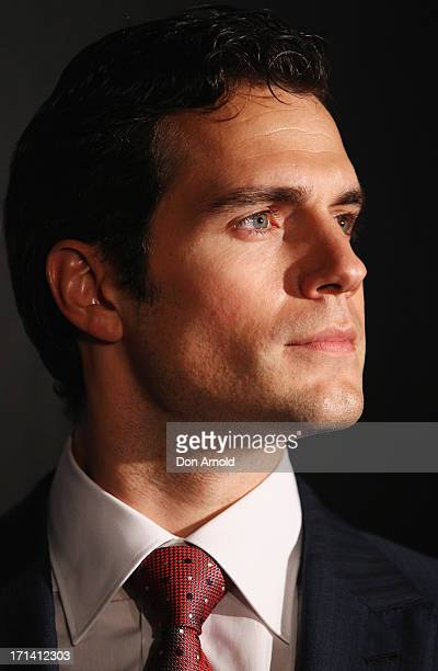 Henry Cavill attends the 'Man Of Steel' Australian Premiere at Event Cinemas George Street on June 24 2013 in Sydney Australia