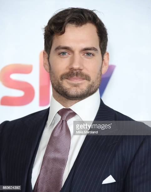 Henry Cavill attends the 'Sky Women In Film and TV Awards' held at London Hilton on December 1 2017 in London England