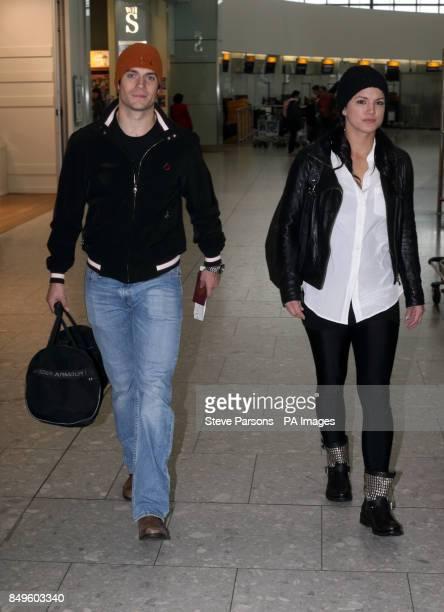 Henry Cavill departs from Terminal 5 at Heathrow Airport London following last night's BAFTA Awards