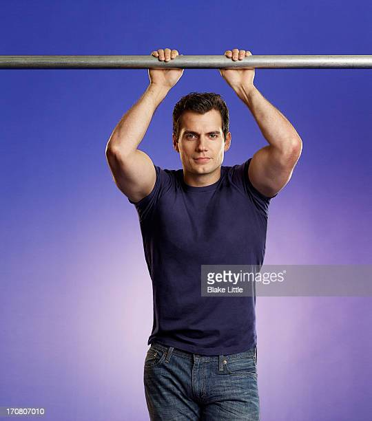 Henry Cavill for USA Weekend on June 5 2013 in Los Angeles California ON DOMESTIC EMBARGO UNTIL JULY 5 2013 COVER IMAGE ON INTERNATIONAL EMBARGO...