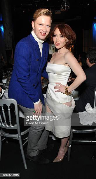 Henry Conway and Daisy Lewis attend Spectrum 2014 an annual fundraising event in support of the National Autistic Society to launch World Autism...