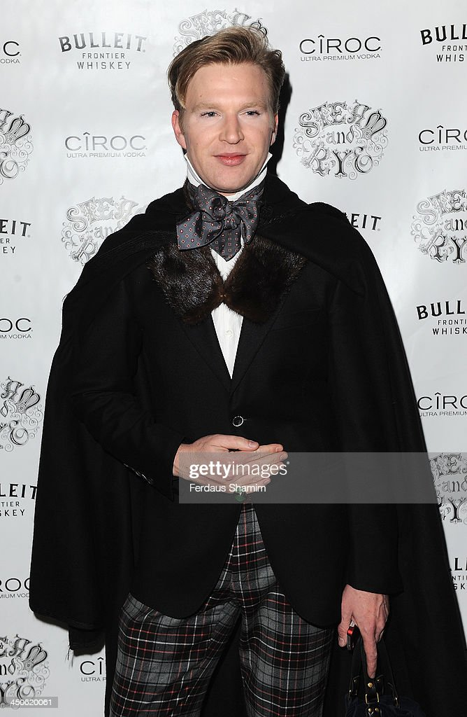 Henry Conway arrives for the 'Steam and Rye' resturent launch party on November 19, 2013 in London, United Kingdom.
