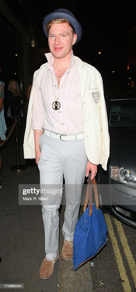 Henry Conway at Mahiki night club on June 20, 2013 in London, England.